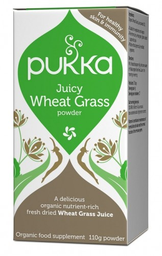 Pukka Juicy Wheat Grass -jauhe
