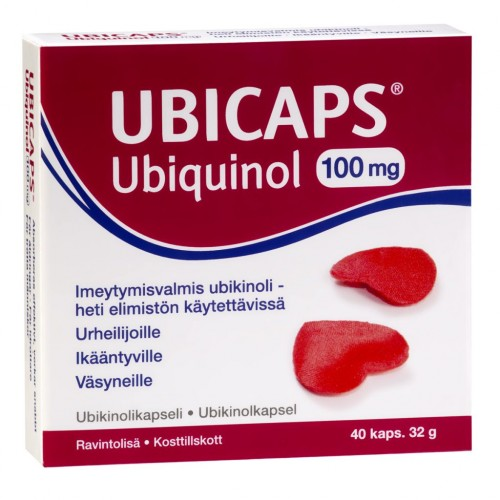 Ubicaps Ubiquinol 100 mg